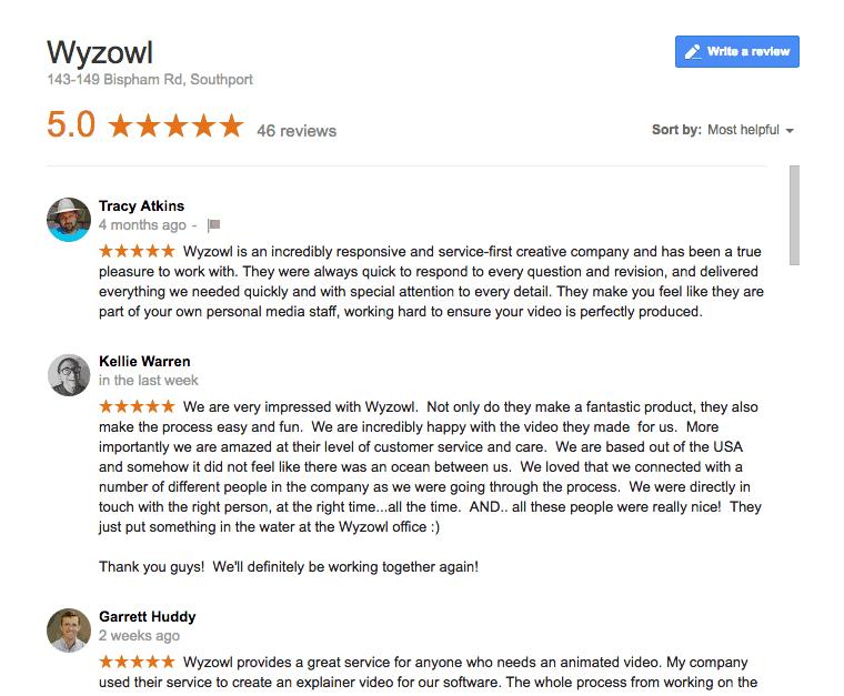 Wyzowl-Google-Reviews