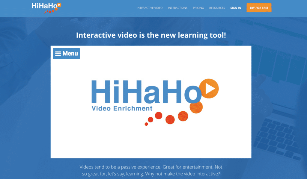 hihaho-homepage