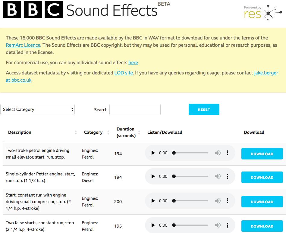 BBC-SFX